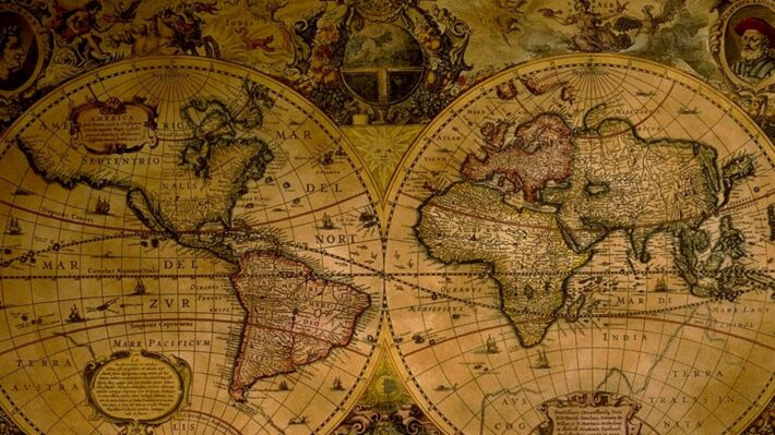 world map1