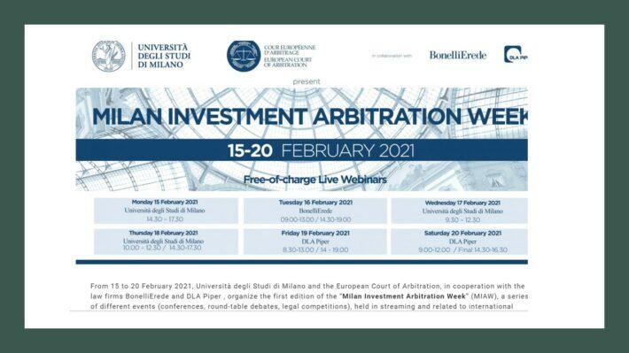 milan arbitration week photo